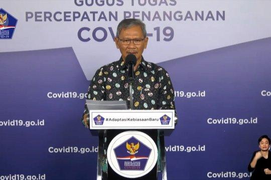 11 provinsi nihil kasus positif COVID-19