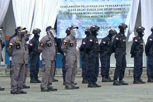 Apel kesiapan dan patroli penegakan hukum TSS di Selat Sunda