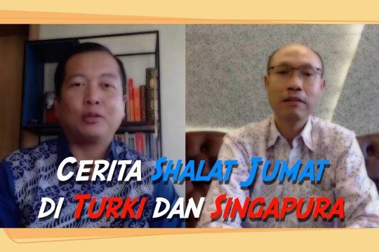Begini cerita Shalat Jumat di Turki dan Singapura