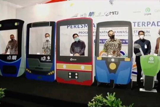 Pemerintah resmikan stasiun terpadu di Jakarta
