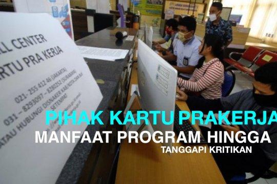 Pihak Kartu Prakerja bahas manfaat program hingga tanggapi kritikan