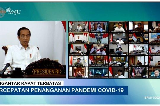 Presiden minta data COVID-19 hanya 1 pintu