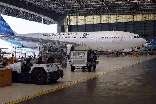 Garuda Indonesia kehilangan 4 musim puncak penerbangan di tahun 2020