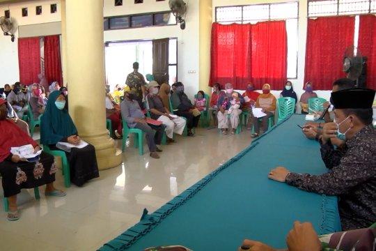 Pencairan BLT-DD di Desa Mangun Jaya Kabupaten Bekasi