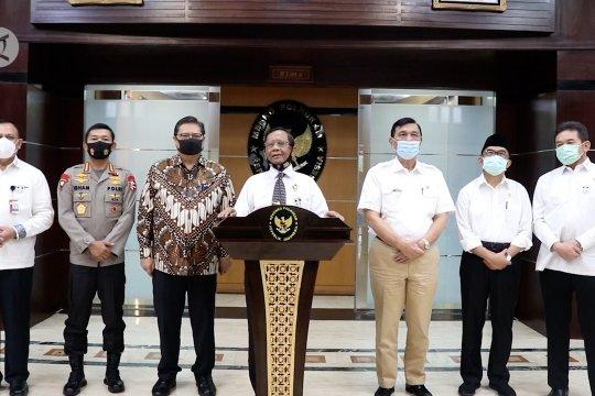 Mahfud MD: pandemi bukan pemakluman bagi penegakan hukum