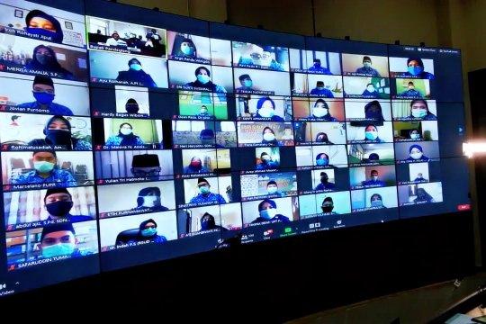 Melalui daring, Bupati Pandeglang lantik ratusan CPNS