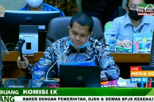 Komisi IX DPR tolak kenaikan iuran BPJS Kesehatan