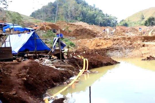 Polisi amankan 17 penambang emas ilegal di Jayapura