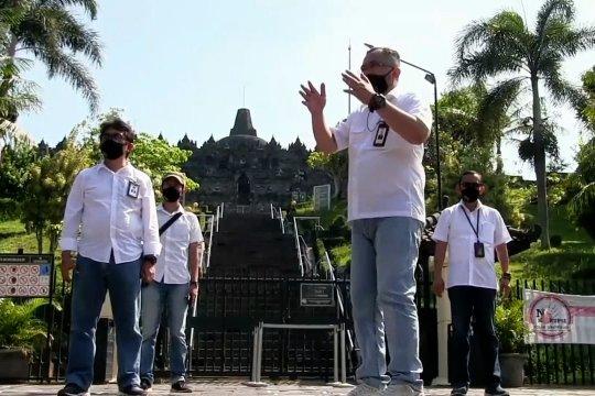 Pembukaan Candi Borobudur tunggu kebijakan pemerintah pusat
