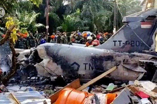Pesawat TNI AU jatuh diduga karena hilang tenaga