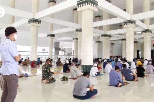 Sejumlah masjid di DKI Jakarta lakukan evaluasi penerapan PSBB transisi