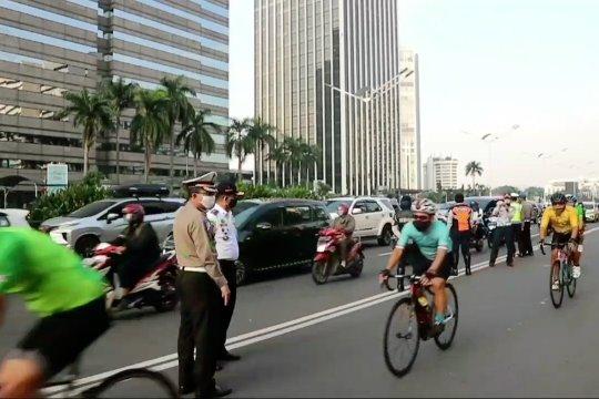 Bersepeda di luar jalur khusus terancam denda Rp100 ribu