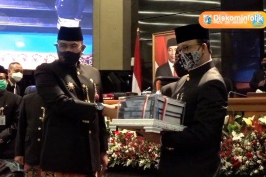 DKI Jakarta 3 kali raih WTP, Anies sebut kado terbaik