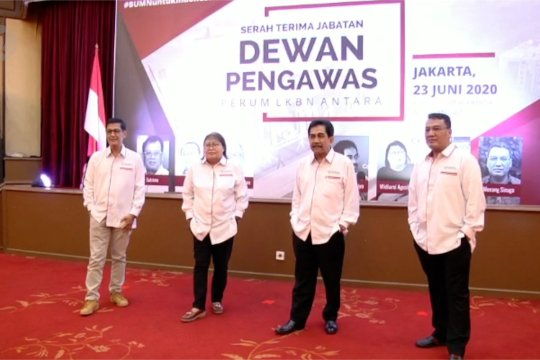 Empat Dewan Pengawas baru Antara resmi bertugas