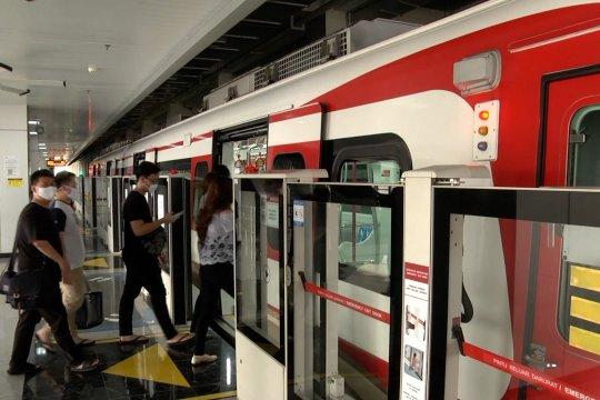 Pengguna LRT naik signifikan di masa transisi PSBB