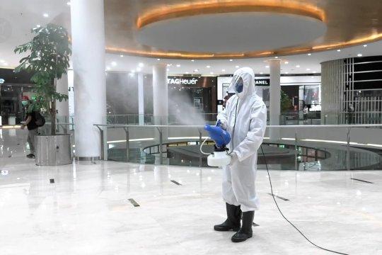 Sejumlah pusat perbelanjaan di Jakarta bersiapjelang normal baru