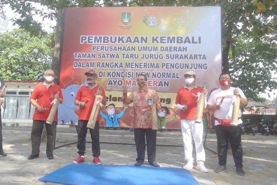 Wali Kota Solo buka kembali Taman Satwa Taru Jurug