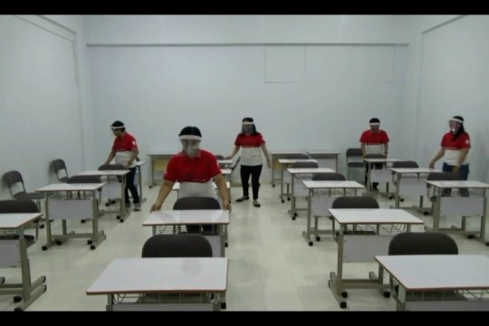 Sekolah di Yogyakarta siapkanfasilitas dan protokol kesehatan