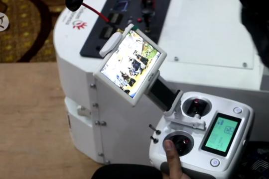 Menkes sumbangkan robot pembunuh virus corona untuk Jatim