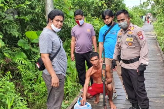 Bantai satwa dilindungi, pria di Kapuas ditangkap polisi
