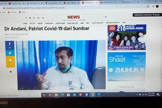 Cerita Dr. Andani Eka Putra, Patriot COVID-19 dari Sumbar