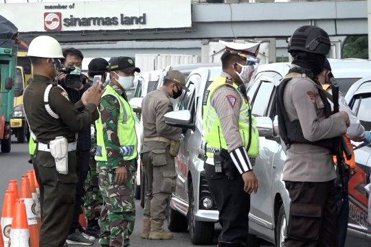 Hari ke-40 Operasi Ketupat, 5.734 kendaraan diputarbalikkan ke daerah asal