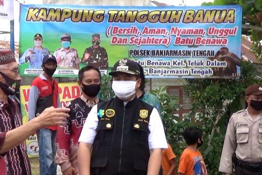 Kampung tangguh, inisiatif warga hadapi pandemi COVID-19