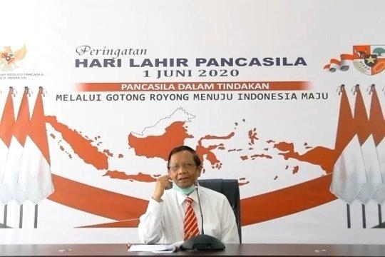 Mahfud MD : Anak muda harus aktif kampanyekan Pancasila