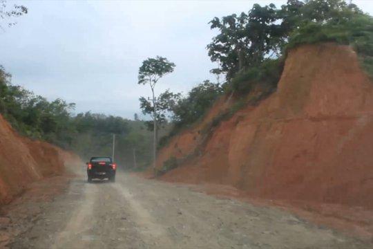 Pembangunan jalan Solok Selatan-Dharmasyara ditargetkan rampung dua tahun