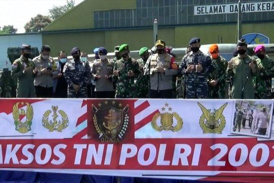 Perwira TNI–Polri alumni 2002 bersatu lawan COVID-19