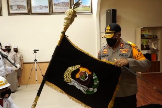 Polda Papua lakukan tradisi Penyucian Pataka Rastra Samara