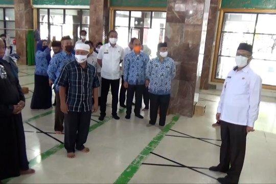 """Siap terapkan """"new normal"""", Wali Kota Kendari tinjau sejumlah rumah ibadah"""