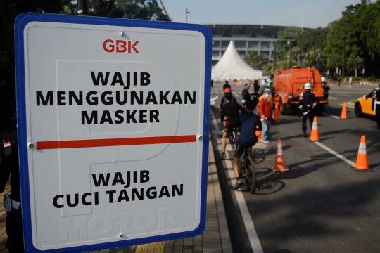 Stadion GBK berlakukan aturan khusus pada Sabtu dan Minggu