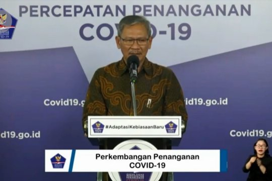 5 provinsi nihil penambahan positif COVID-19