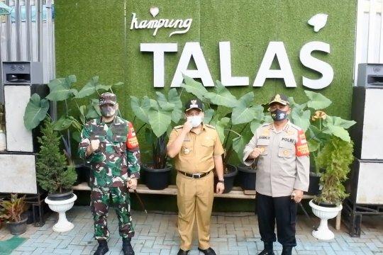 Kampung Talas, kawasan percontoh zona hijau COVID-19 Tangerang