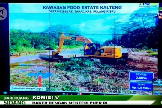 Menteri PUPR redesain jaringan irigasi food estate