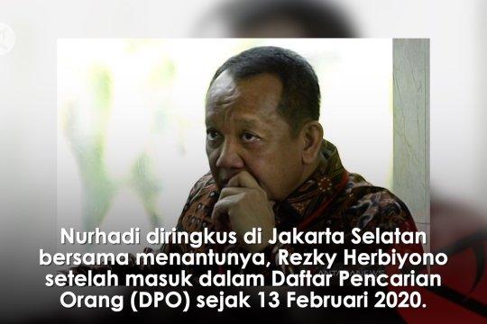 Penangkapan eks Sekretaris MA Nurhadi oleh KPK