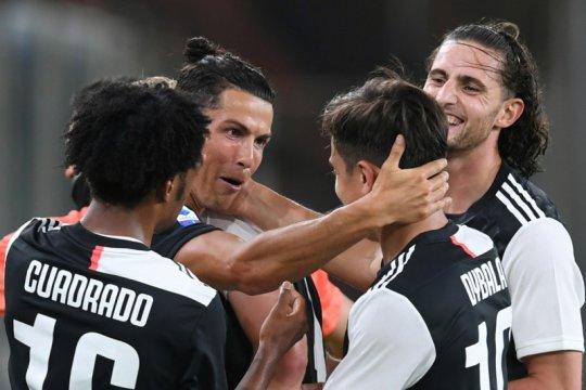 Sarri senang Ronaldo dan Dybala kian padu