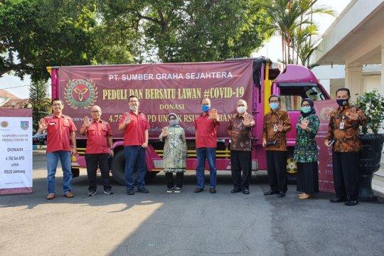 Sampoerna Kayoe salurkan donasi 4.750 set APD kepada RSUD di Jombang