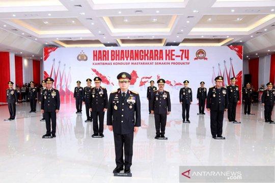 Hari Bhayangkara Kapolri minta jajaran perkuat sinergi dengan TNI