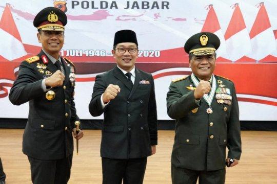Gubernur apresiasi kinerja Polda Jabar dalam penanganan COVID-19