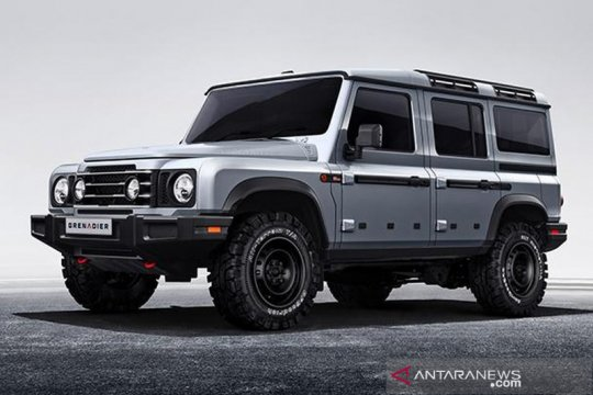 INEOS Automotive umumkan desain eksterior Grenadier 4x4