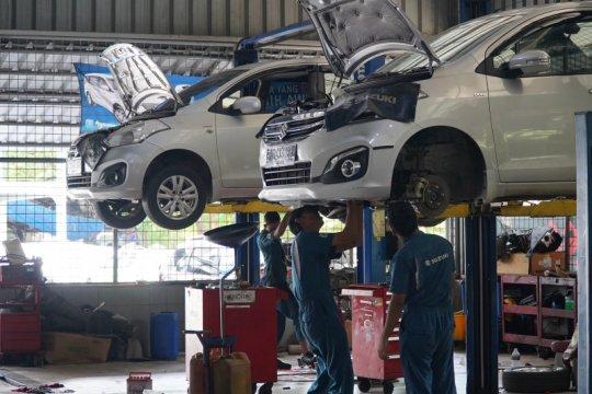 Permintaan suku cadang Suzuki naik drastis di masa transisi