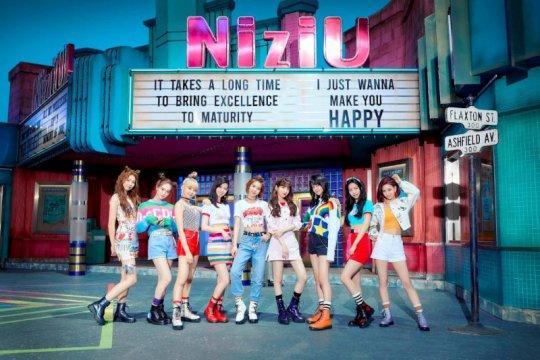 "JYP kenalkan grup idola Jepang NiziU lewat lagu ""Make You Happy"""