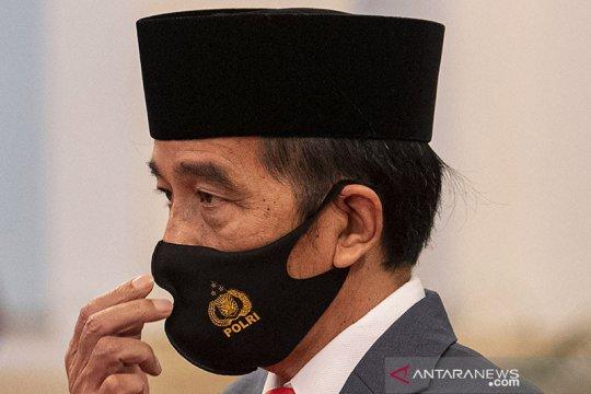 Presiden Jokowi: Keterlibatan Polri tangani COVID-19 sangat dibutuhkan