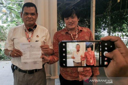 Terkait UU ITE, anggota DPR RI membuat laporan ke Polda NTB