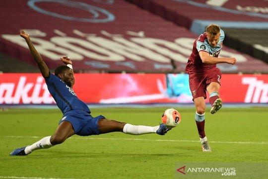 West Ham pungkasi tren positif Chelsea