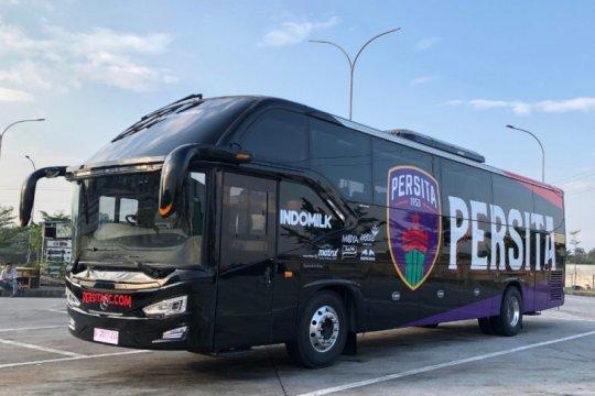 Persita Tangerang perkenalkan bus baru tim untuk arungi kompetisi
