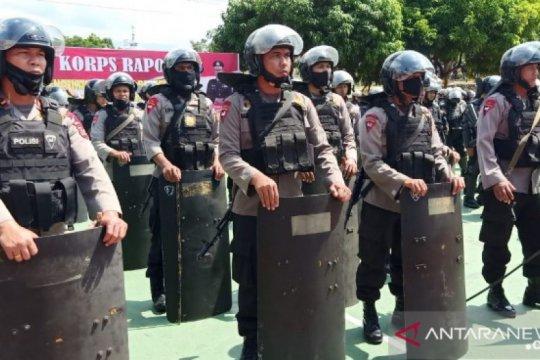 Warga kembali blokir jalan di Madina, satu SSK Brimob Sumut dikerahkan