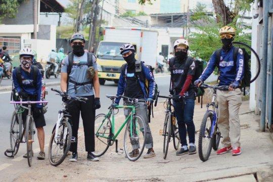 IBMA sebut usaha kurir sepeda bermunculan selama pandemi COVID-19